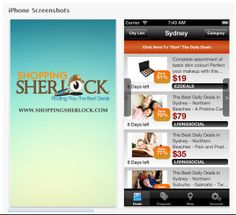 Want to be able to find the best deals from around the world straight from your mobile phone? With the new Shopping Sherlock App you will be able to find all the best group  buying deals from the likes of Groupon, Living Social, and KGB Deals and other daily deal sites. Available at iTunes for: iPad, iPhone & iPod. Shopping Sherlock - Android Apps on Google Play Invitation code: 51240 https://itunes.apple.com/us/app/shopping-sherlock/id662882478?mt=8