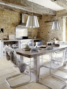 Kitchen Decoration French Farmhouse Kitchen Decor With Clear Acrylic And Chrome Dining Chair Also Chicken Hen