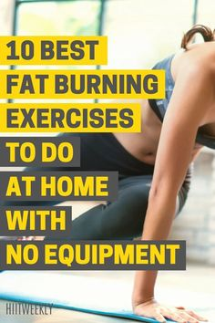 Lose Fat Workout, Full Body Hiit Workout, 10 Minute Workout, Belly Fat Workout, Fat Burning Workout, Hiit Workouts With Weights, Hiit Workouts For Beginners, Fun Workouts, Hiit Workout Routine