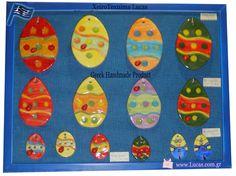 Handmade ceramic eggs Beautiful decoration idea for Easter Greek souvenirs Beautiful Decoration, Handmade Ceramic, Greek, Eggs, Easter, Ceramics, Ceramica, Pottery, Easter Activities
