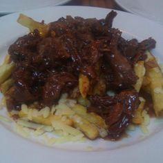 Poutine with Oxtail Stew @ Animal Restaurant