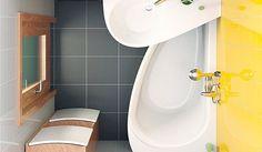 10 kis fürdőszoba káddal, 10 fenomenális megoldás!