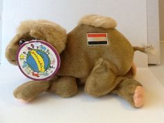 """Peaceable Planet® Plush Camel """"Niles"""" RARE HARD TO FIND Won Lawsuit Against TY® #PeaceablePlanet"""