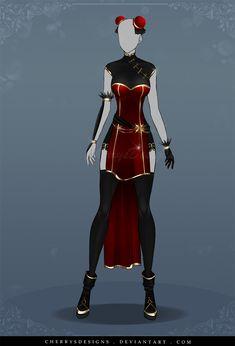 (OPEN) Auction Adopt - Outfit 540 by CherrysDesigns.deviantart.com on @DeviantArt