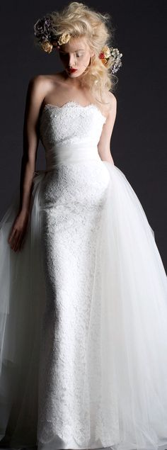 Wedding Dress... #fashion #dresses