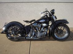 Knucklehead Harley › Dark Harley Davidson El