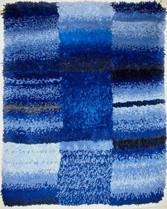 RYIJY Rya Rug, Wool Rug, Home Rugs, Finland, Carpet, Textiles, Tapestry, Crafts, Teaching