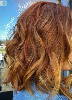 60 Best Strawberry Blonde Hair Ideas to Astonish Everyone - Copper Brown Hair With Golden Blonde Highlights - Strawberry Blonde Highlights, Red Hair With Highlights, Strawberry Hair, Strawberry Blonde Hair Color, Golden Blonde Hair, Brown Blonde Hair, Copper Highlights, Red Hair With Lowlights, Auburn Blonde Hair
