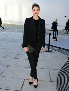 Gemma Arterton - Oscarwinnares Lupita Nyong'o & meer celebs bij de laatste shows in Parijs