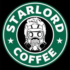 Star Lord Coffee T-Shirt Guardians of the Galaxy Tee | Textual Tees