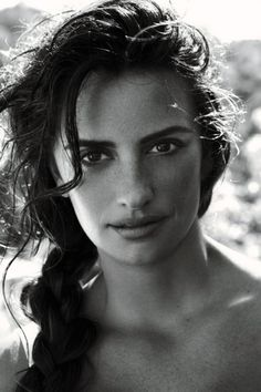 Penelope Cruz -- she is so beautiful...yet another reason to love the name penelope!