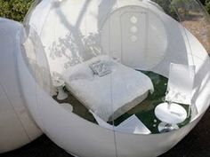 inflatable bubble lodge for outdoor camping