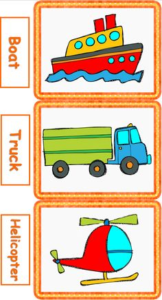 Means of Transport Flashcards.