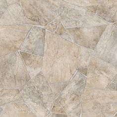 TrafficMASTER Broken Stone Beige 13.2 ft. Wide x Your Choice Length Residential Vinyl Sheet Flooring