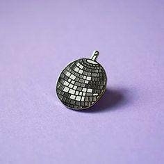 Disco Ball Enamel Pin