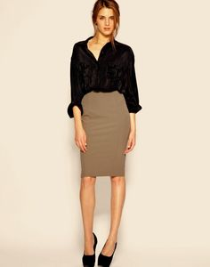 Office attire doesn't have to be boring because you stick to neutral colors!