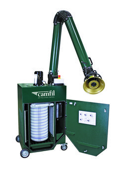 @CamfilAPC Zephyr III portable dust collector provides source capture for facilities that perform maintenance welding or light production welding.