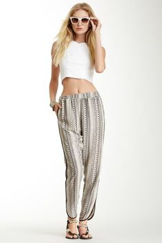 Mosaic Straight Pant by Romeo & Juliet Couture on @HauteLook