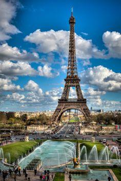 Amazing view of tour eiffel in Paris Eiffel Tower Pictures, France Landscape, Paris In Spring, Paris France Travel, France Eiffel Tower, Gustave Eiffel, Paris Wallpaper, Beautiful Landscape Wallpaper, Paris Wall Art