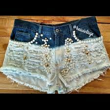 Resultado de imagem para shorts jeans diferenciados