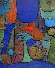 Paul Klee - Unterwassergarten / Underwatergarden