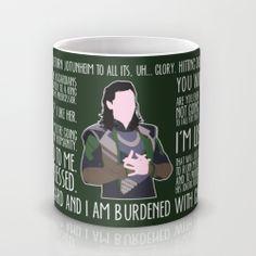 Loki Mug by britishindie   Society6