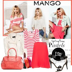 Mango Pastels For Spring- Polyvore