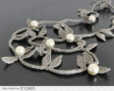 idea: crochet jewelry to match the outfit  (use embroidery floss?)