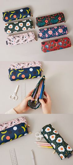 Make your stationery POP with the Pop Art Pen Case! Colorfully fun patterns and a spacious interior make for a must-have accessory.