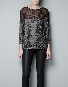 Love this top from Zara