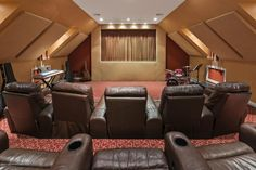 Incredible Home Theater at 20 Oakes Rd in Little Silver, NJ #littlesilver #nj #hometheater