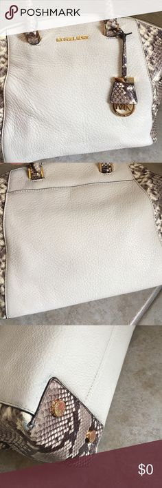 ADDITIONAL PHOTOS OF MK RILEY BAG Additional photos of MK Riley bag listed in closet.  Trying to show close ups of each side.  Corners on bottom of bag show signs of wear - otherwise in very good condition. Michael Kors Bags Satchels