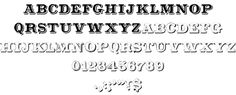 CameoAntique font by Character - FontSpace