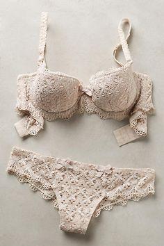 Valery Crochet Padded Bra - anthropologie.com