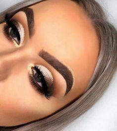Charlotte tilbury, luxury makeup, sephora, huda be Makeup Eye Looks, Cute Makeup, Glam Makeup, Gorgeous Makeup, Skin Makeup, Makeup Inspo, Eyeshadow Makeup, Beauty Makeup, Huda Beauty