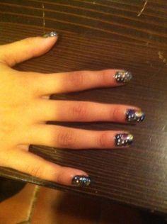 Nicolette's Galaxy nails