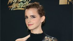Emma Watson Wins First Ever Gender-Neutral MTV TV & Movie Award For 'Beauty And The Beast' #Entertainment #News