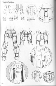 Como Desenhar Mangá - Robôs Robot Concept Art, Armor Concept, Robot Art, Manga Drawing Tutorials, Drawing Techniques, Mecha Manga, Robots Drawing, How To Draw Robots, Transformers Drawing