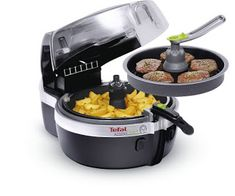 Buy Tefal Actifry Fryer - Black at Argos. Thousands of products for same day delivery or fast store collection. Tefal Actifry, Actifry 2 In 1, Healthy Fryer, Fish And Chips, Air Fryer Recipes, Kitchen Gadgets, Kitchen Tools, Kitchen Appliances, Side Dishes
