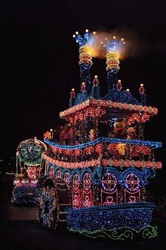 Disney - Disney's Electrical Parade | Flickr - Photo Sharing!