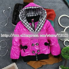 Aliexpress.com : Buy 2013 children's winter jacket winter children outerwear winter jackets for girls double breasted SCG 3069 Free Shipping from Reliable girls winter coat suppliers on Sunlun Wholesale And Retail Center $18.02