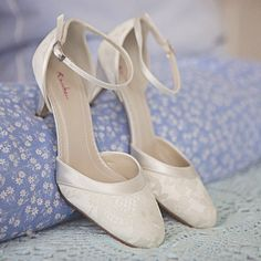 Hochzeitsschuh Penny ivory creme - Braut Boutique