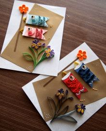 Quilling Paper Craft, Paper Quilling, Paper Crafts, Cute Crafts, Diy And Crafts, Crafts For Kids, Asian Cards, Origami Tutorial, Valentine Crafts