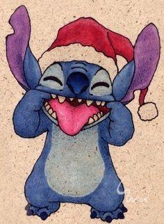 Santa Stitch.