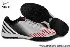 2013 Running White-MetallInfrared-Runnig Black Adidas Predator LZ TRX TF Soccer Shoes For Sale