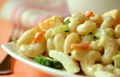 Healthy Macaroni Salad