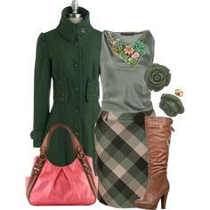"""""""Green's"""" by modna-radionica on Polyvore"""