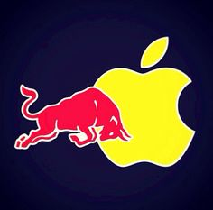 Red bull apple