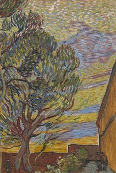De tuin van de inrichting - Van Gogh Museum