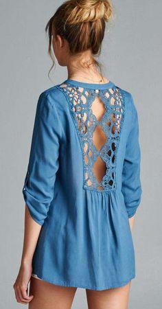 Gracie Shirt in London Blue